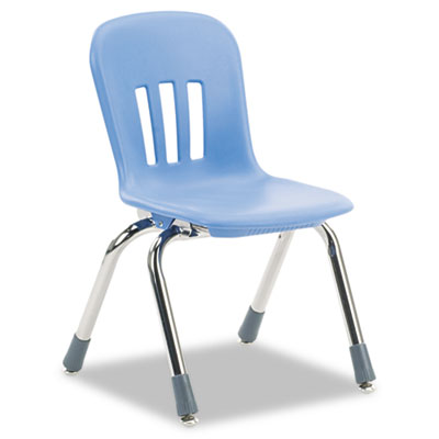 """Metaphor Series Classroom Chair, 12-1/2"""" Seat Height, Blueberry/"""