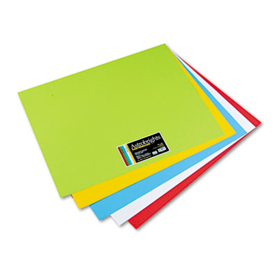 Astrobrights Premium Poster Board, 28 x 22, Five Assorted Colors