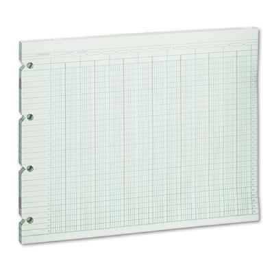Accounting Sheets, 24 Column, 9-1/4 x 11-7/8, 100 Loose Sheets/P
