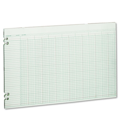 Accounting Sheets, 24 Columns, 11 x 17, 100 Loose Sheets/Pack, G