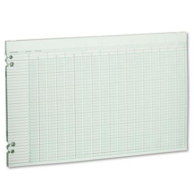 Accounting Sheets, 30 Columns, 11 x 17, 100 Loose Sheets/Pack, G