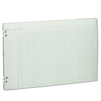 Accounting Sheets, 36 Columns, 11 x 17, 100 Loose Sheets/Pack, G