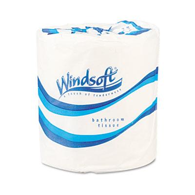Single Roll Bath One-Ply Bath Tissue, 1000 Sheets/Roll, 96 Rolls