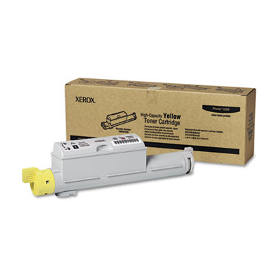 106R01220 High-Yield Toner, 12000 Page-Yield, Yellow