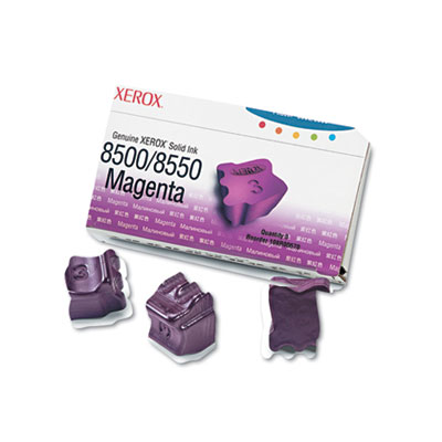 108R00670 Solid Ink Stick, 1,033 Page-Yield, 3/Box, Magenta