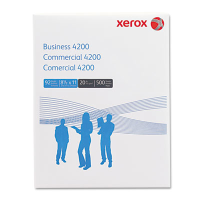 Business 4200 Copy Paper, 92 Brightness, 20lb, 8-1/2 x 11, White