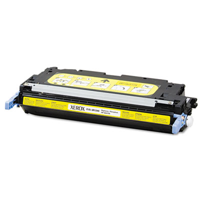 6R1340 Compatible Remanufactured Toner, 4900 Page-Yield, Yellow