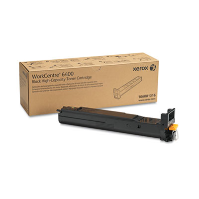 106R01316 High-Yield Toner, 12000 Page-Yield, Black