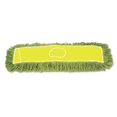 "Echo Dustmop, Synthetic/Cotton, 36"" x 5"", Green"