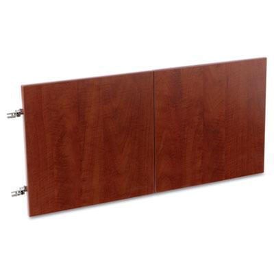 Valencia Series Hutch Doors, Laminate, 15-1/2w x 3/4d x 15h, Med