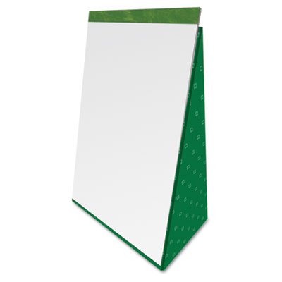 Flip Chart Pads, Unruled, 27 x 34, White, Two 50-Sheet Pads