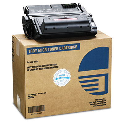 0281118001 38A Compatible MICR Toner Secure, 13,500 Page-Yield,