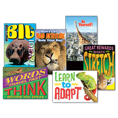 """Animals & Self Discovery"" ARGUS Poster Combo Pack, 6 Posters/Pa"