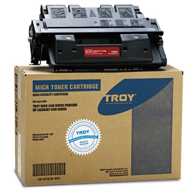 0281078001 61X Compatible MICR Toner Secure, High-Yield, 10,000