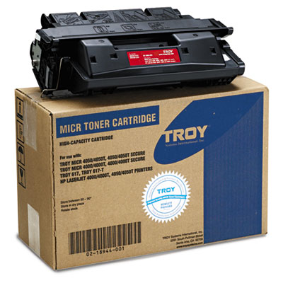 0218944001 27A Compatible MICR Toner Secure, High-Yield, 10,000