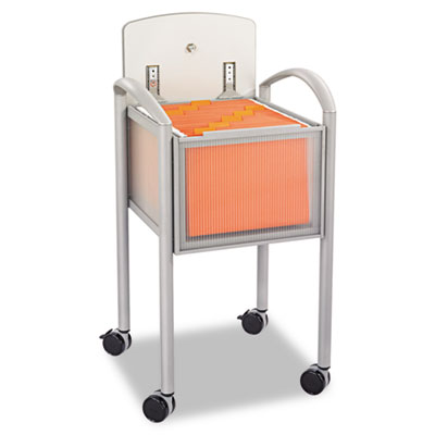 Impromptu Locking File Cart, 20-1/4w x 21-1/2d x 30-3/4h, Gray/S