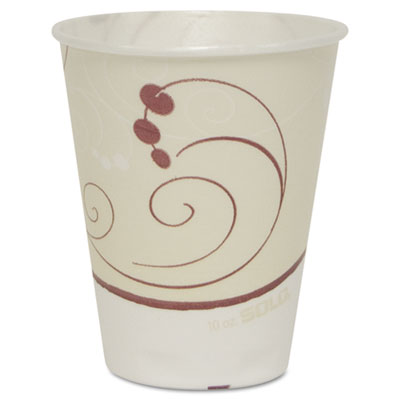 Symphony Design Trophy Foam Hot/Cold Drink Cups, 12oz, 300/Carto