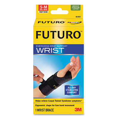 Energizing Wrist Support, Small/Medium, Fits Right Wrists 5 1/2""