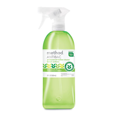 Antibacterial Spray, Kitchen, Lemon Verbena, 28oz Bottle