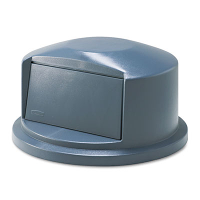 Brute Dome Top Swing Door Lid for 32 Gallon Waste Containers, Pl
