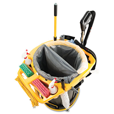 Deluxe Rim Caddy, 28 1/2 x 39 1/8, Yellow