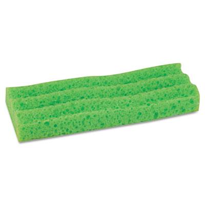 """Sponge Mop Head Refill, 9"""", Green"""
