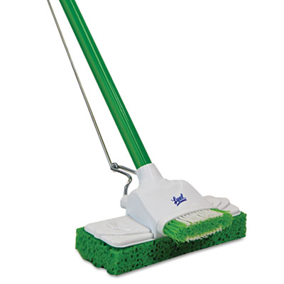 "Lysol Sponge Mop, 9"", 48"" Steel Handle"