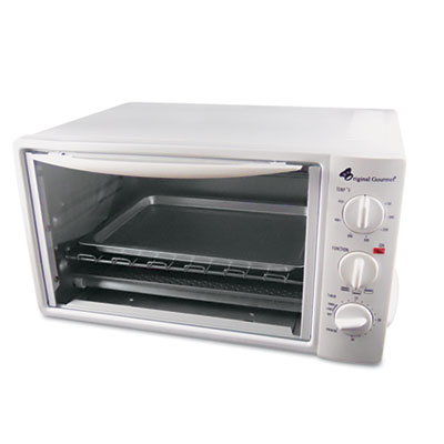 Multi-Function Toaster Oven with Multi-Use Pan, 15 x 10 x 8, Whi