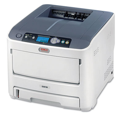 C610n Laser Printer, Network-Ready
