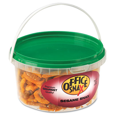 All Tyme Favorite Nuts, Sesame Snax Mix, 13oz Tub