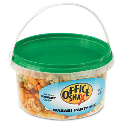 All Tyme Favorite Nuts, Wasabi Party Mix, 10oz Tub