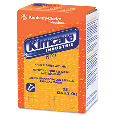 KIMCARE INDUSTRIES NTO Hand Cleaner w/Grit, Orange, 3500mL Bag I