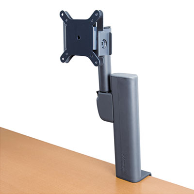 "Column Mount Monitor Arm, 10 3/10"" x 5 9/10"" x 12"", Black"