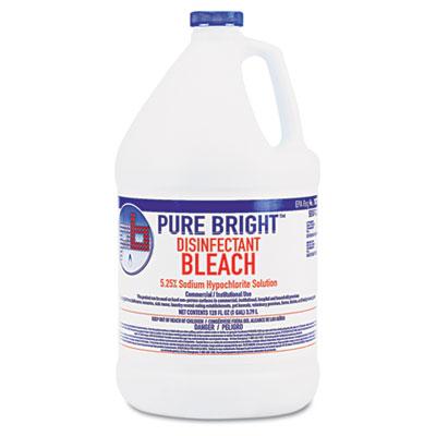 Liquid Bleach, 1gal Bottle, 4/Carton