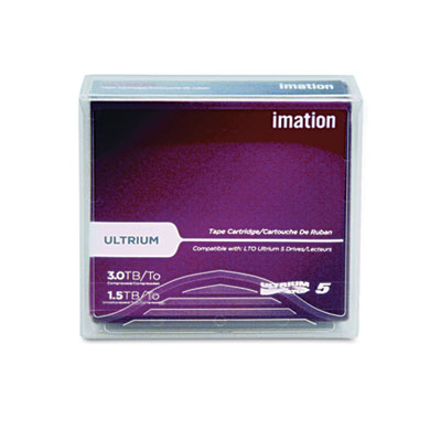 """1/2"""" Ultrium LTO-5 Cartridge, 2775ft, 1.5TB Native/3TB Compresse"""