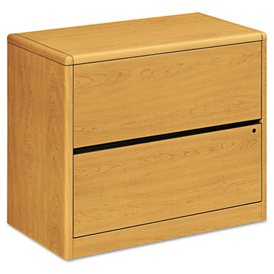 10700 Series Two-Drawer Lateral File, 36w x 20d x 29-1/2h, Harve