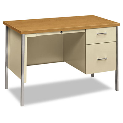 34000 Series Right Pedestal Desk, 45-1/4w x 24d x 29-1/2h, Harve