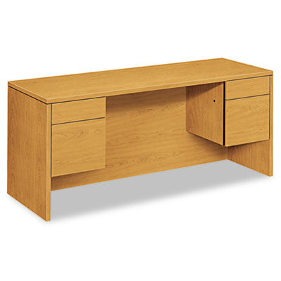 10500 Series Kneespace Credenza With 3/4-Height Pedestals, 60w x