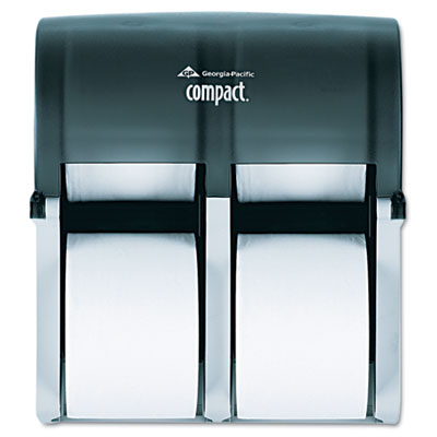 Compact Four Roll Coreless Tissue Dispenser, 11 3/4 x 6 9/10 x 1