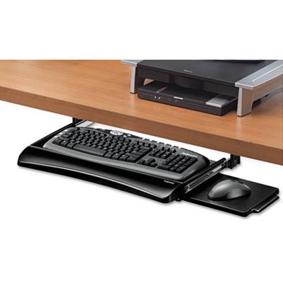 Office Suites Underdesk Keyboard Drawer, 20-1/8w x 7-3/4d, Black