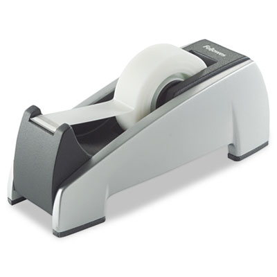 "Office Suites Desktop Tape Dispenser, 1"" Core, Plastic, Heavy Ba"