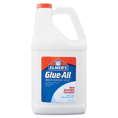 Elmer's Hunt Mfg. E1326 Glue-All White Glue, Repositionable, 1 gal
