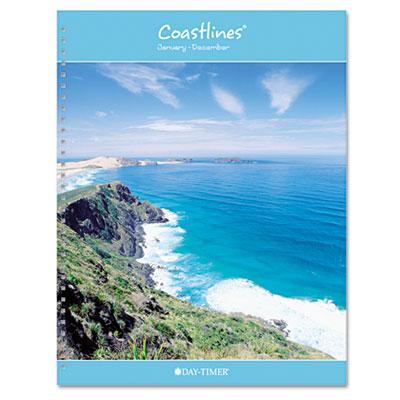 Coastlines Notebook Planner Refill, 8 1/2 x 11, 2015