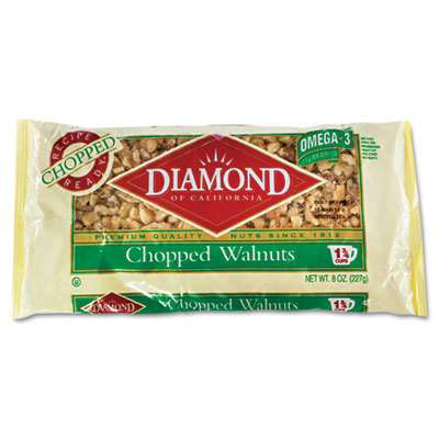 Chopped Walnuts, 8oz Bag