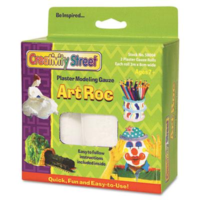 ArtRoc Plaster Modeling Gauze, White, 2 Rolls/Pack