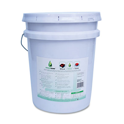 Eco-Friendly Sorbent, Clay, 25lb Bucket