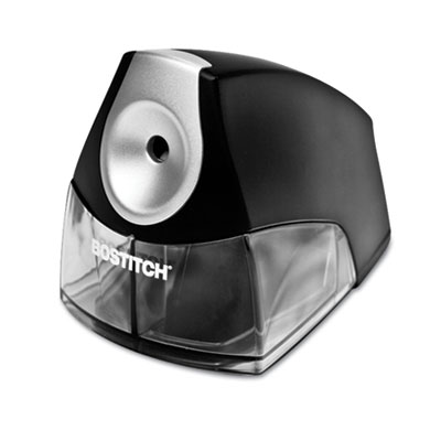Compact Desktop Electric Pencil Sharpener, Black