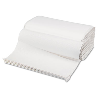 Singlefold Paper Towels, White, 9 x 9 9/20, 250/Pack, 16 Packs/C
