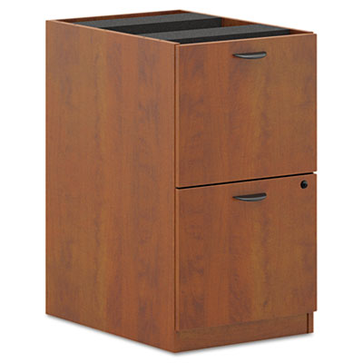 BL Laminate Two-Drawer Pedestal File, 15-5/8w x 21-3/4d x 27-3/4