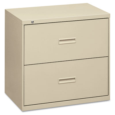 400 Series Two-Drawer Lateral File, 36w x 19-1/4d x 28-3/8h, Put